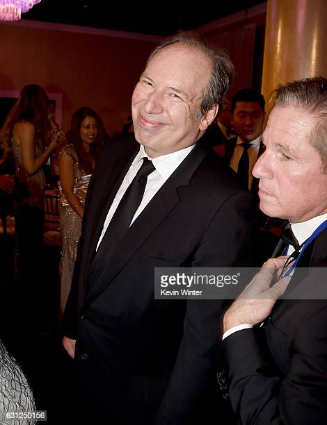 Composer Hans Zimmer attends the 74th Annual Golden Globe Awards at The Beverly Hilton Hotel on January 8 2017 in Beverly Hills California