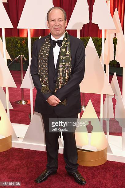 Composer Hans Zimmer attends the 87th Annual Academy Awards at Hollywood Highland Center on February 22 2015 in Hollywood California