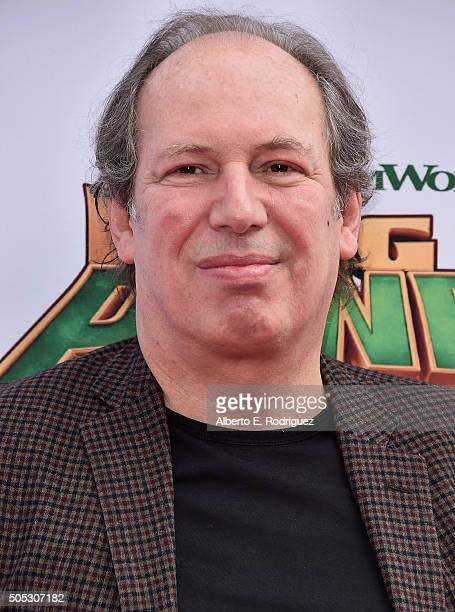 Composer Hans Zimmer attends the premiere of DreamWorks Animation and Twentieth Century Fox's 'Kung Fu Panda 3' at TCL Chinese Theatre on January 16...