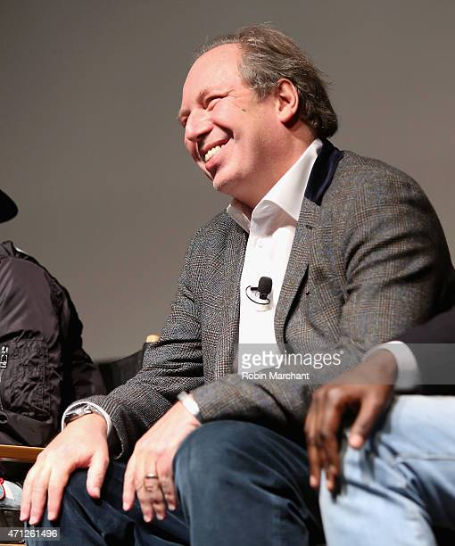 Composer Hans Zimmer attends Tribeca Talks After The MovieLes Bosquets during the 2015 Tribeca Film Festival at SVA Theater on April 26 2015 in New...