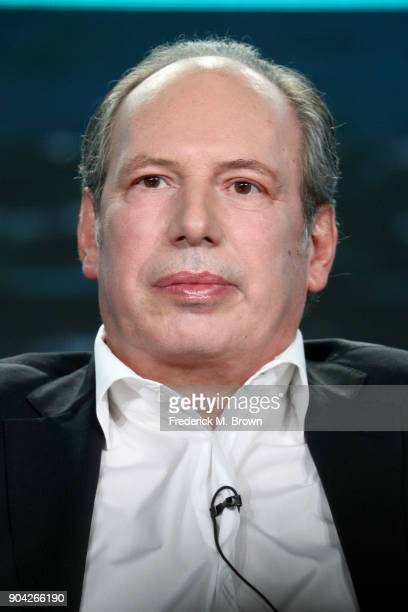 Composer Hans Zimmer of 'Planet Earth Blue Planet II' speaks onstage during the BBC America portion of the 2018 Winter Television Critics Association...