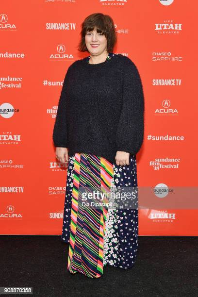 Composer Heather McIntosh attends the 'Hal' Premiere during the 2018 Sundance Film Festival at The Marc Theatre on January 22 2018 in Park City Utah