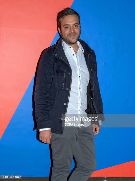 Composer James Edward Barker at a photo call during the UK film premiere of Gwen at the Filmhouse in Edinburgh Gwen is Writer and Director William...