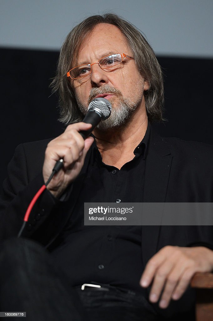 Composer Jan A. P. Kaczmarek speaks onstage at the Power Of Story: Measure For Measure Panel during the 2013 Sundance Film Festival at Egyptian Theatre on January 25, 2013 in Park City, Utah.