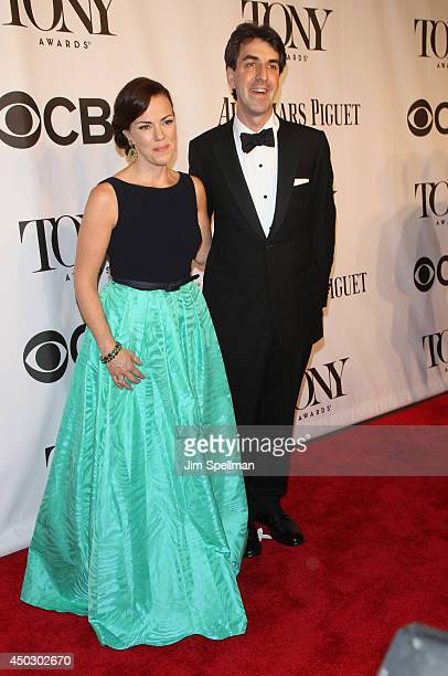 Composer Jason Robert Brown and wife Georgia Stitt attend the American Theatre Wing's 68th Annual Tony Awards at Radio City Music Hall on June 8,...
