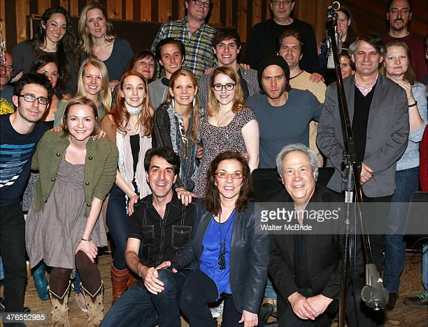 Composer Jason Robert Brown Playwright Marsha Norman Director Bartlett Sher with cast ensemble featuring Kelli O'Hara Steven Pasquale Hunter Forster...
