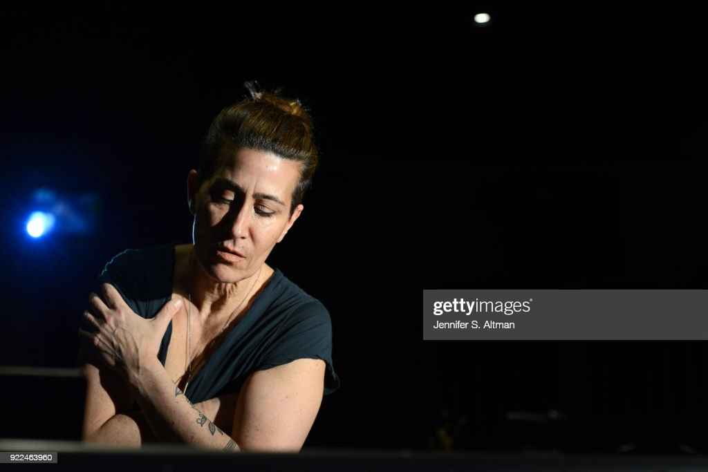 Composer Jeanine Tesori is photographed for Los Angeles Times on February 5, 2017 in New York City. PUBLISHED