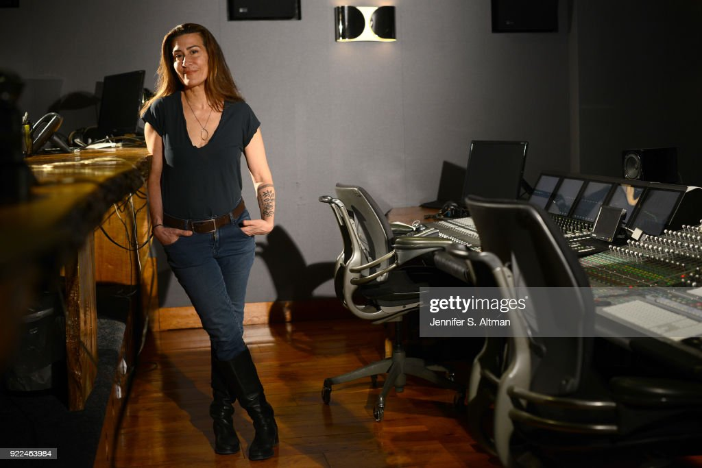 Composer Jeanine Tesori is photographed for Los Angeles Times on February 5, 2017 in New York City.