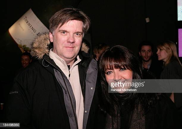 Composer JeanMichel Bernard and Doreen Ringer Ross BMI attend the BMI Big Crowded Room Party at the Leaf Lounge during the 2008 Sundance Film...