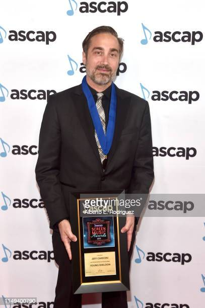 Composer Jeff Cardoni winner of the award for Top Network Television Series 'Young Sheldon' attends the ASCAP 2019 Screen Music Awards at The Beverly...