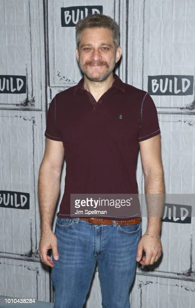 Composer Jeff Marx attends the Build Series to discuss Avenue Q at Build Studio on August 3 2018 in New York City