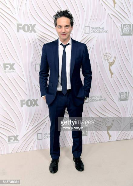 Composer Jeff Russo attends FOX Broadcasting Company Twentieth Century Fox Television FX And National Geographic 69th Primetime Emmy Awards After...