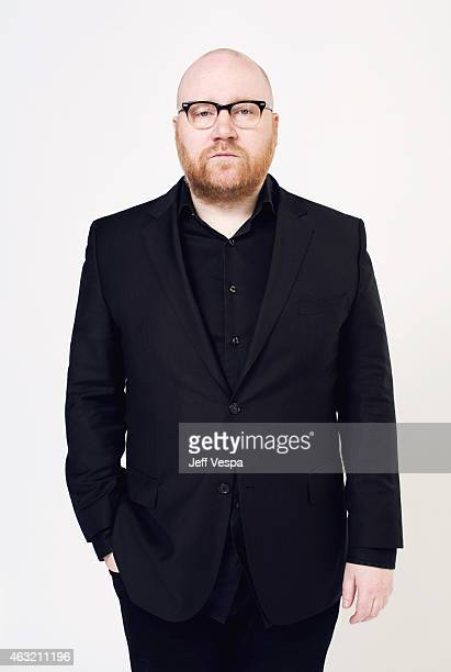 Composer Johann Johannsson poses for a portraits at the 87th Academy Awards Nominee Luncheon at the Beverly Hilton Hotel on February 2 2015 in...