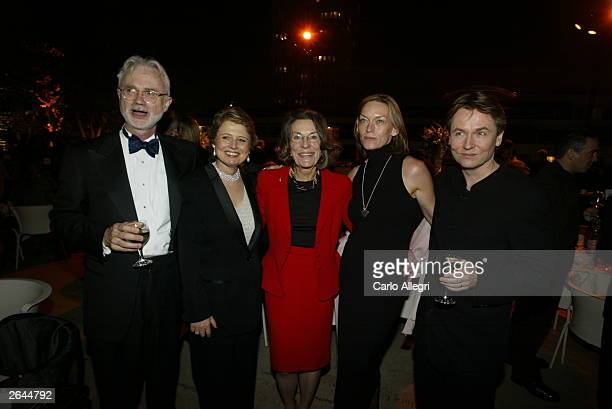 Composer John Adams President of the Los Angeles Philharmonic Deborah Borda Aristocrat Diane DisneyMiller Jane Salonen and Music Director EsaPekka...