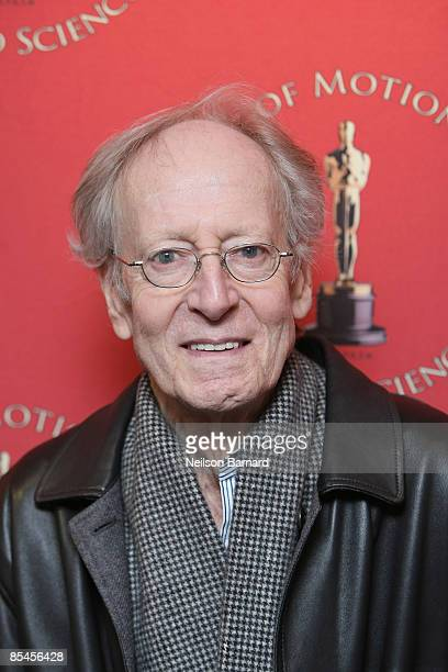 Composer John Barry attends a screening and discussion of Midnight Cowboy presented by AMPAS at DGA Theatre on March 16 2009 in New York City