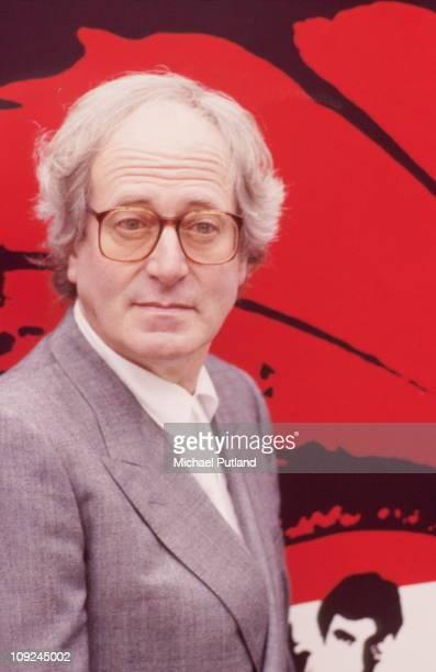 Composer John Barry, London, 1987.