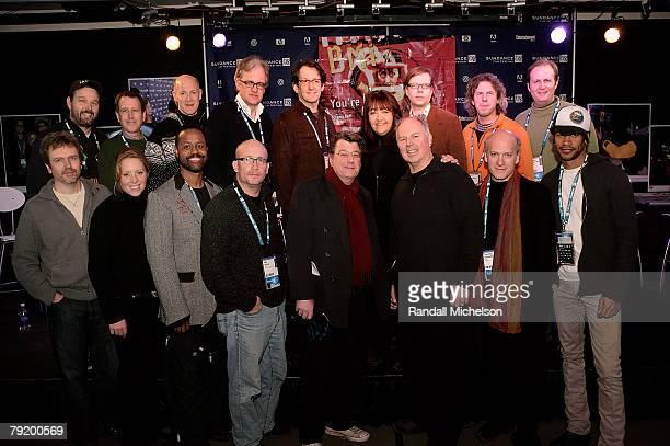 Composer John Frizzell director Patrick Creadon actress Amy Redford composer Peter Golub producer Neil Meron composer Mervyn Warren director Jan...