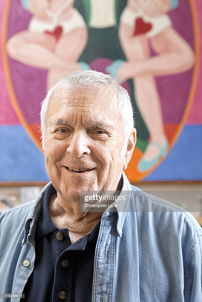 Composer John Kander is photographed for The London Times on October 10, 2012 in New York City.
