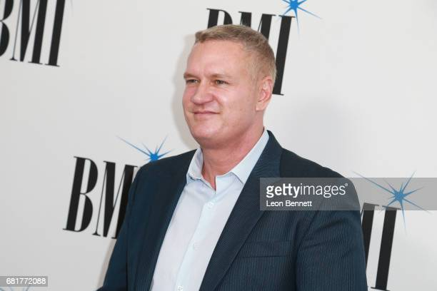 Composer John Ottman arrives to the 2017 BMI Film TV And Visual Media Awards at the Beverly Wilshire Four Seasons Hotel on May 10 2017 in Beverly...