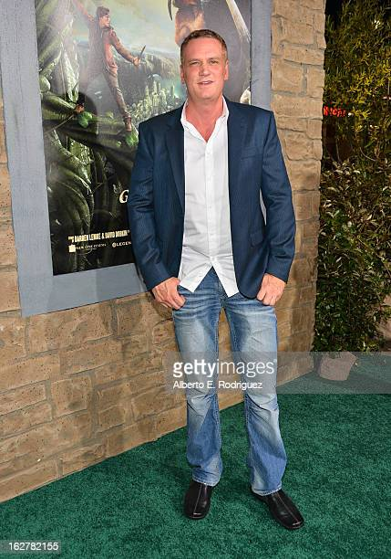 Composer John Ottman attends the premiere of New Line Cinema's Jack The Giant Slayer at TCL Chinese Theatre on February 26 2013 in Hollywood...