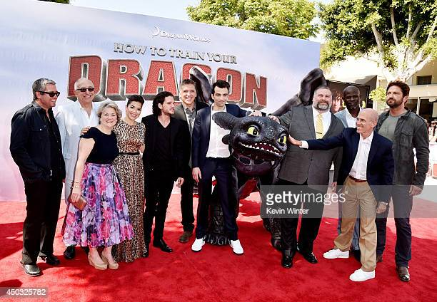 Composer John Powell Randy Thom supervising sound designer producer Bonnie Arnold actors America Ferrera Kit Harington Craig Ferguson Jay Baruchel...