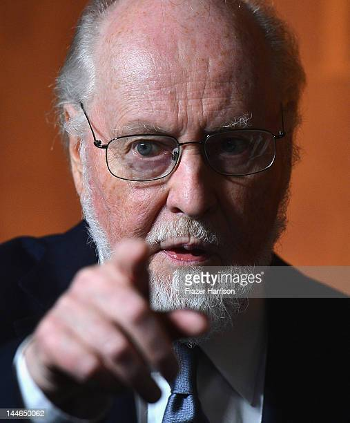 Composer John Williams arrives at the 60th Annual BMI Film And Television Awards at the Four Seasons Beverly Wilshire Hotel on May 16 2012 in Beverly...