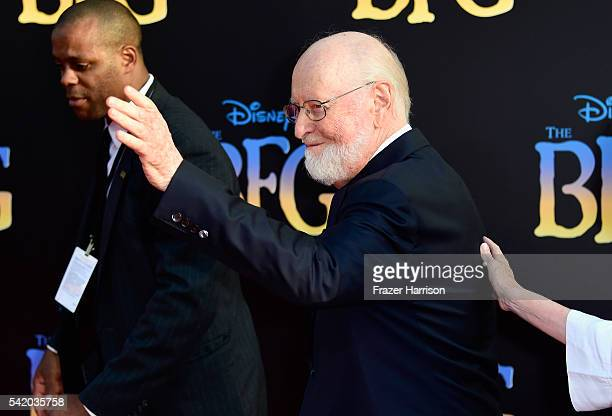 Composer John Williams attends Disney's The BFG premiere at the El Capitan Theatre on June 21 2016 in Hollywood California