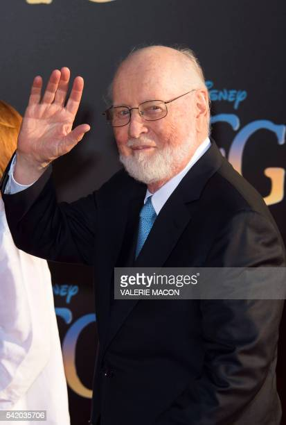 Composer John Williams attends the premiere of Disney's The BFG at El Capitan in Hollywood California June 21 2016