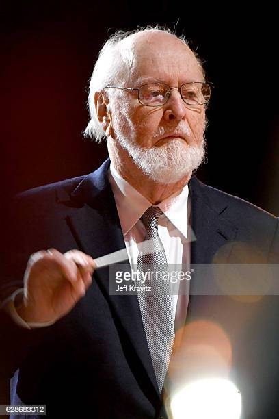 Composer John Williams performs onstage during Ambassadors for Humanity Gala Benefiting USC Shoah Foundation at The Ray Dolby Ballroom at Hollywood...