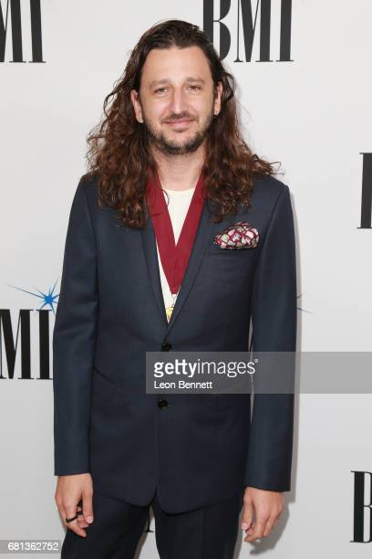 Composer Julian Bunetta arrives at the 65th Annual BMI Pop Awards at the Beverly Wilshire Four Seasons Hotel on May 9 2017 in Beverly Hills California