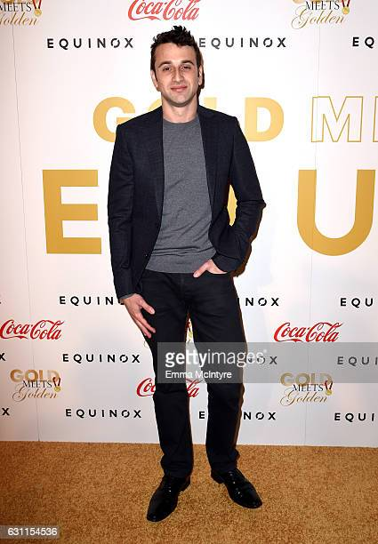 Composer Justin Hurwitz attends Life is Good at GOLD MEETS GOLDEN Event at Equinox on January 7 2017 in Los Angeles California