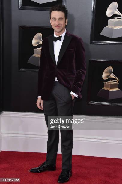 Composer Justin Hurwitz attends the 60th Annual GRAMMY Awards at Madison Square Garden on January 28 2018 in New York City