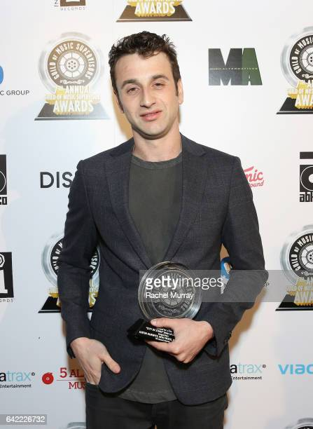Composer Justin Hurwitz attends The 7th Annual Guild Of Music Supervisors Awards at The Theater at Ace Hotel on February 16 2017 in Hollywood...
