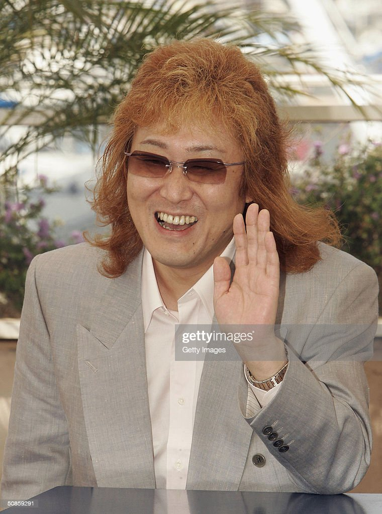 Composer Kenji Kawai attends photocall for 'Innocence' at Le Palais des Festival at the 57th Cannes Film Festival on May 20, 2004 in Cannes, France.