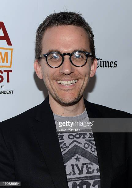 Composer Kurt Oldman arrives at the Tapia premiere during the 2013 Los Angeles Film Festival at Regal Cinemas LA Live on June 15 2013 in Los Angeles...