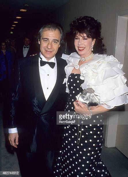 Composer Lalo Schifrin and wife Donna attend the Society of Singers' First Annual ELLA Lifetime Achievement Award Salute to Ella Fitzgerald on April...
