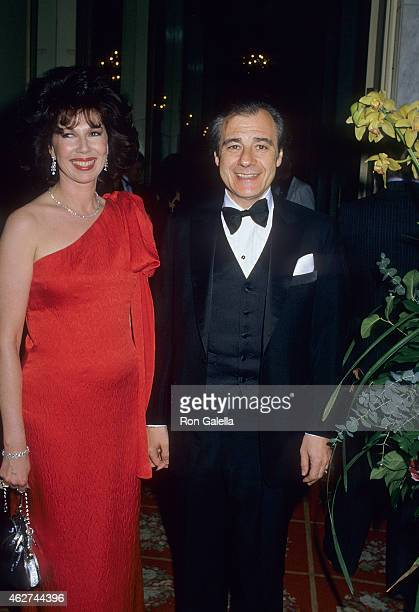 Composer Lalo Schifrin and wife Donna attend the Third Annual BMI Motion Picture Television Awards on May 26 1988 at the Beverly Wilshire Hotel in...