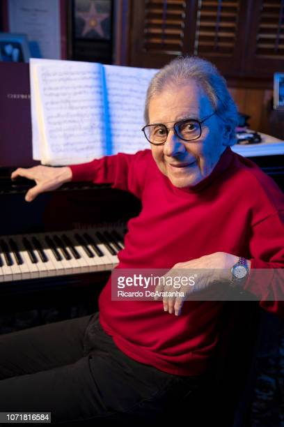 Composer Lalo Schifrin is photographed for Los Angeles Times on November 9 2018 in Beverly Hills California PUBLiSHED IMAGE CREDIT MUST READ Ricardo...