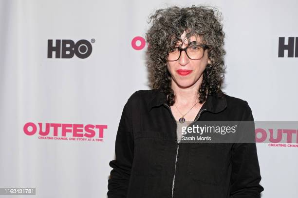 Composer Lori Scacco attends the 2019 Outfest Los Angeles LGBTQ Film Festival screening of Archivettes at TCL Chinese 6 Theatres on July 21 2019 in...