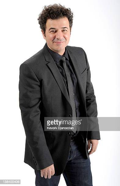 Composer Ludovic Bource poses for a portrait during the 84th Academy Awards Nominations Luncheon at The Beverly Hilton hotel on February 6 2012 in...