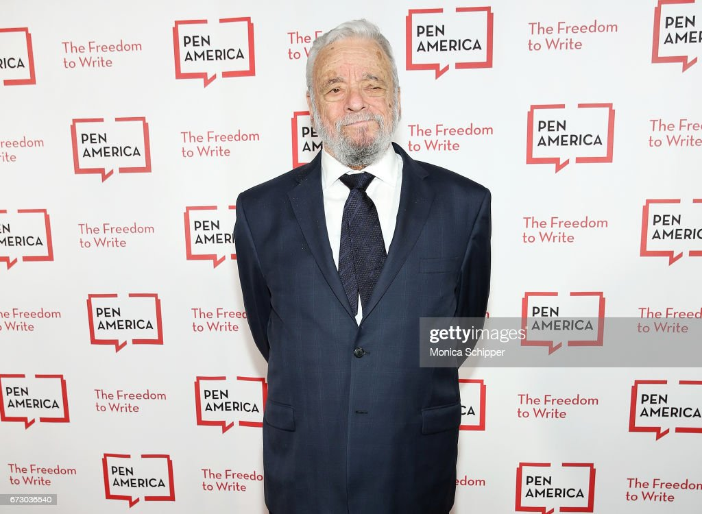 Composer, lyricist and honoree Stephen Sondheim attends the 2017 PEN America Literary Gala at American Museum of Natural History on April 25, 2017 in New York City.