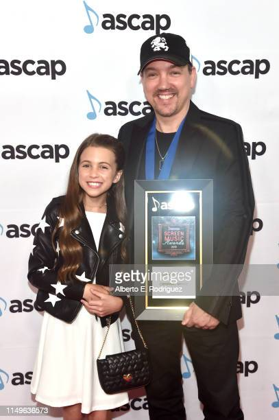 Composer Marc Fantini winner of the award for Top Network Television Series for 'Criminal Minds' attends the ASCAP 2019 Screen Music Awards at The...