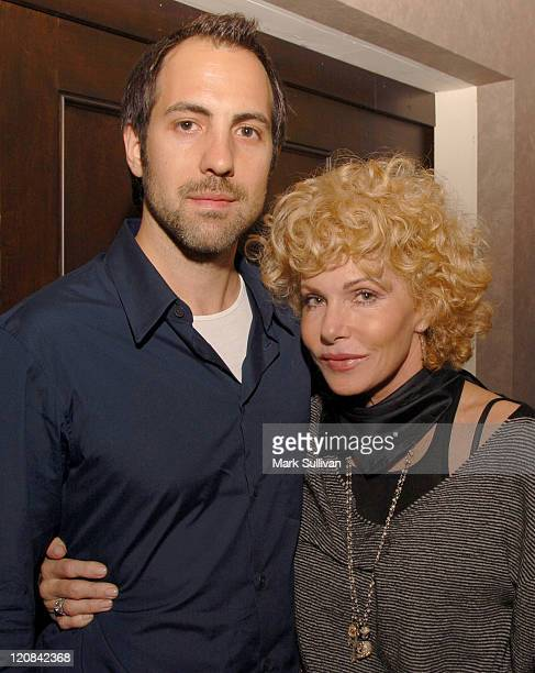 Composer Marc Streitenfeld and Kathy Nelson president music Universal Pictures attend the Kathy Nelson/American Gangster CD soundtrack celebration...