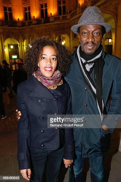 La Porte A Cote Theater Play At Theatre Edouard Vii In Paris Stock