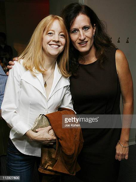 Composer Maria Schneider and Executive Director of the New York Chapter Elizabeth Healy attend the New York Chapter of the National Academy of...