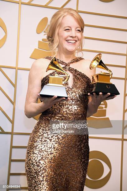 Composer Maria Schneider winner of Best Arrangement Instruments and Vocals for 'Sue ' and Best Large Jazz Ensemble Album for 'The Thompson Fields'...