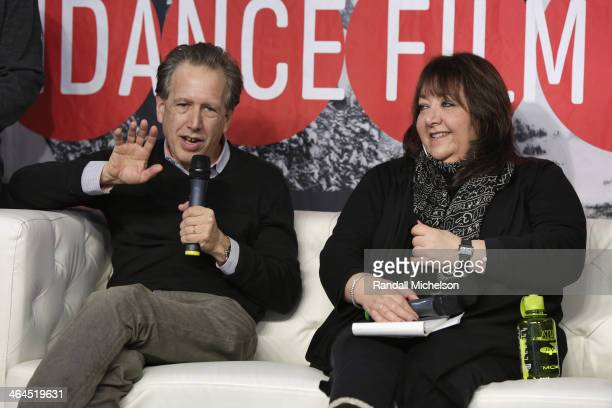 Composer Mark Golub and BMI's Doreen RingerRoss speak at BMI's 16th Annual Composer/Director Roundtable Music Film The Creative Process at Sundance...