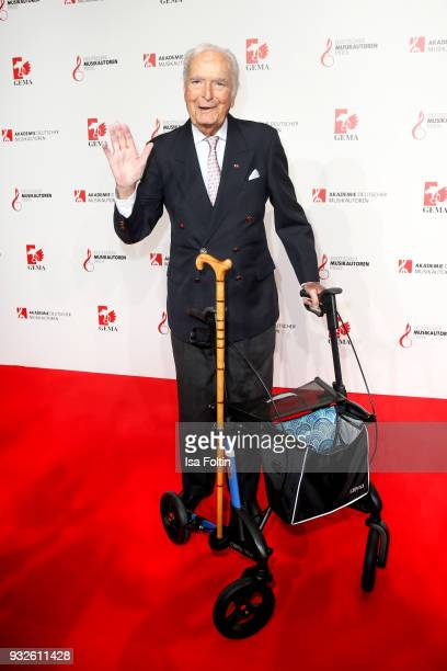 Composer Martin Boettcher during the German musical authors award on March 15 2018 in Berlin Germany