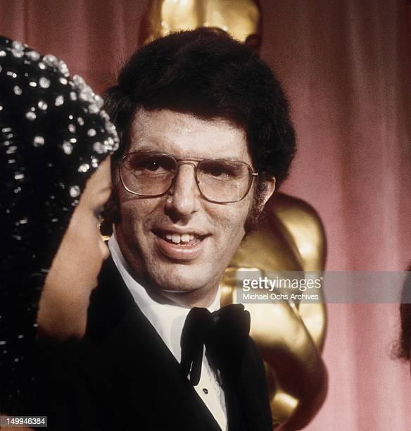 Composer Marvin Hamlisch and actress AnnMargret attend the 46th Academy Awards on April 2 1974 at the Dorothy Chandler Pavilion in Los Angeles...