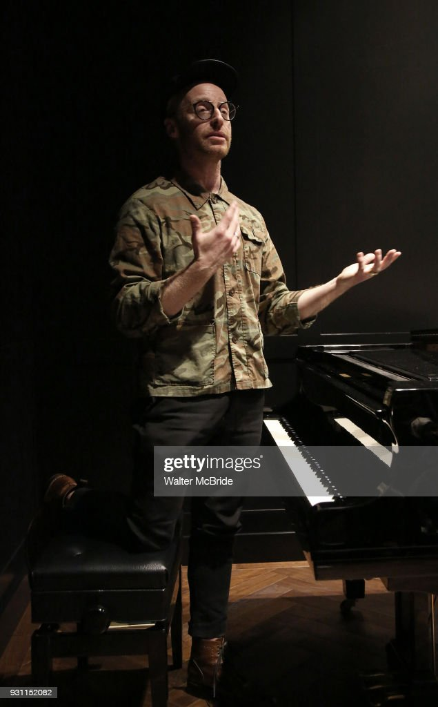 Composer Matt Gould attends The Dramatists Guild Foundation Salon with Matt Gould on March 12, 2018 at StellarTower in New York City.